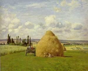 pissarro-haystack